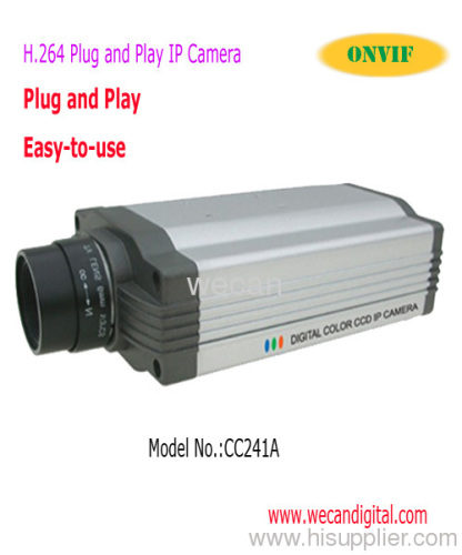 H.264 Plug and Play IP Camera