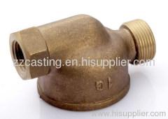Bronze body casting CNC castings