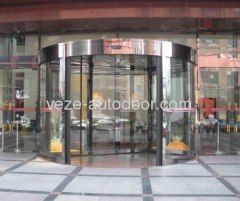 2 wing automatic revolving doors