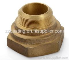 Bronze sand casting valve parts bronze nuts bronze connector
