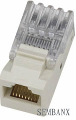 Cat5e 8P8C UTP tooless Keystone Jack