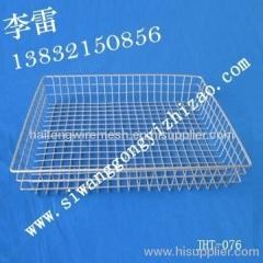 welded wire mesh metal washing basket