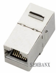 Cat.5e Shielded Coupler Keystone Jack