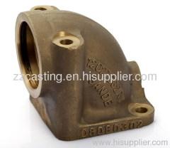 Bronze Casting CNC Bronze fittings