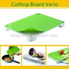 Multi-function cut cutting board