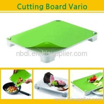 Multi-function cut cutting board