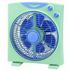"10"" electric powerful quite box fan"