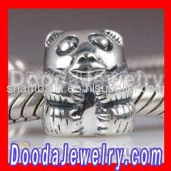 925 Sterling Silver Panda Animal Charms