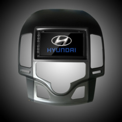Hyundai GPS DVD AUX Audio Input From Front Panel