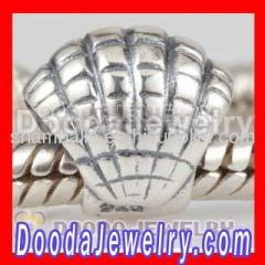 european Silver Seashell Charms For Bracelets
