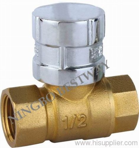 brass magnetic ball valves