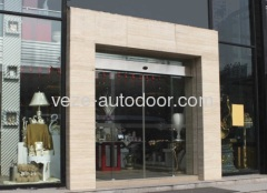 Automatic glass sliding doors