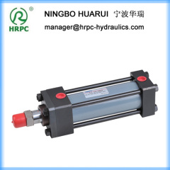 HC double rods hydraulic actuator oil cylinders