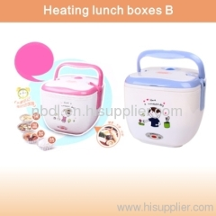 Heating lunch boxes B