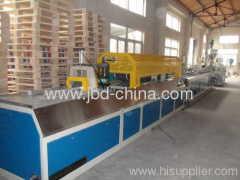 PE WPC decking production line