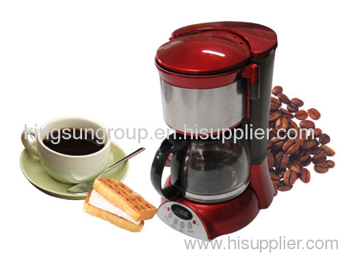 coffee maker with digital timers