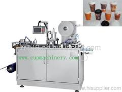 plastic cover forming machine