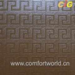 PVC Emboss Leather Fabric