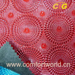 Embossed leatheroid imtation decoration leather for bags
