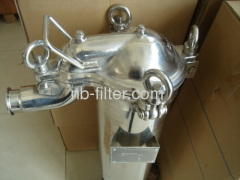 Stainless Steel Top-flow Single Bag Filtration