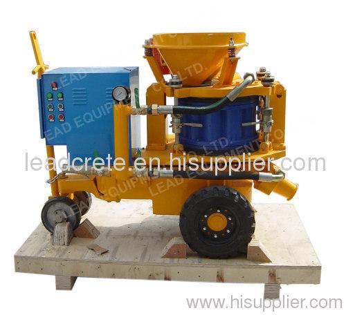 spraying concrete machine
