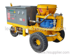 wet spraying concrete machine