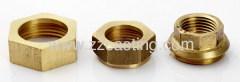 brass nut & brass connector
