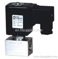 high pressure magnetic valves