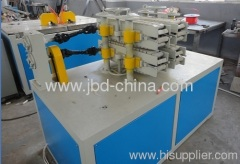 PVC double pipe making machine