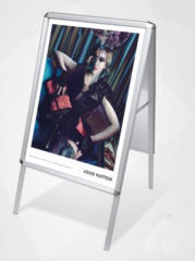 A board pavement signs swing frame display stand