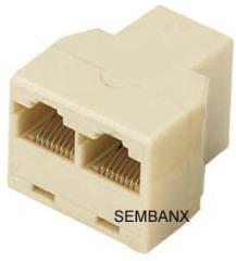 8P T-coupler surface mount box