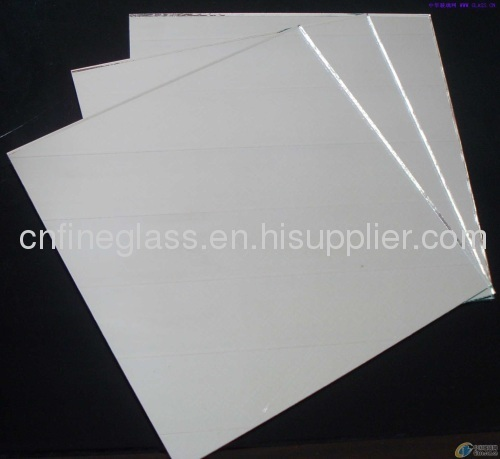 Clear silver mirrors