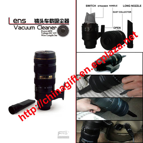 Lens Vacuum Cleaner for car High-power mini vacuum cleaner