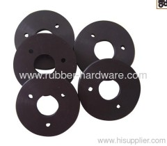 Silicone rubber seal and gasket