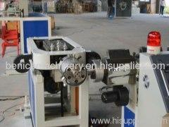 Plastic single extruder machine