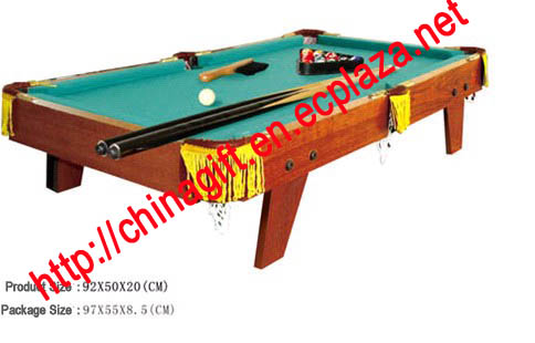 Wooden Mini Pool Table with Accessories
