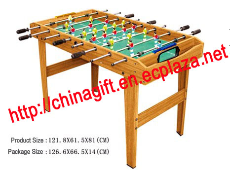 Wooden Soccer Table - 4 legs 03
