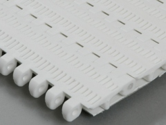Perforated top modular conveyor belt