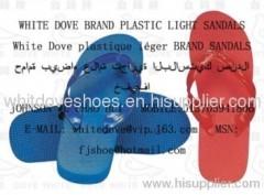 most popular PVC/PE beach flip flop slippers
