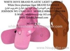 PVC slippers white dove 915A2