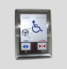 Automatic swing door disabled keypad