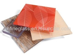 Colorful Leafage Glass