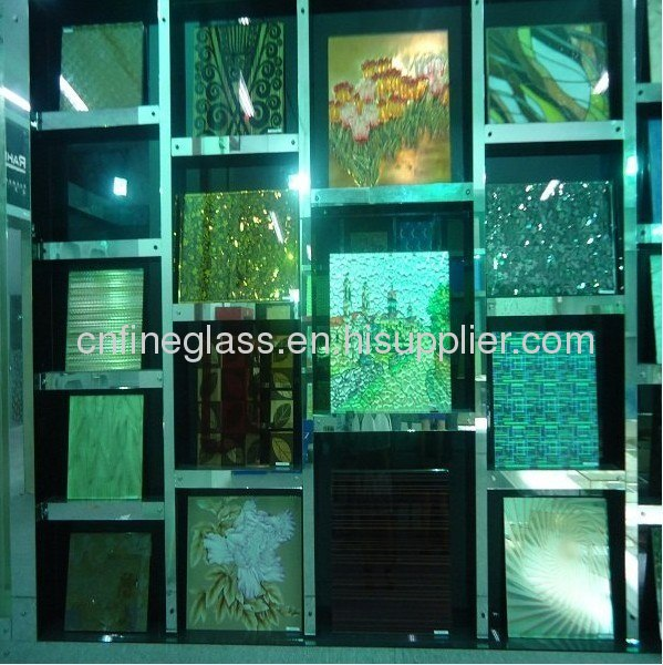 Glass wall decorative panels from china manufacturer shandong haili mirror and glass co ltd - Decorative glass wall panels ...