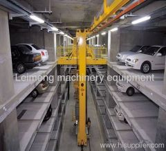 Leimeng upground aisle stacking parking equipment