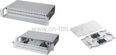 48 core FC Fiber Optic Patch Panel