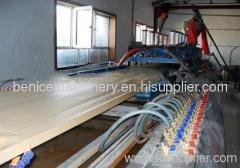 High qualtiy wpc profile extruding machine