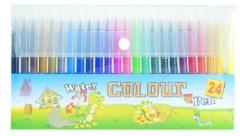 watercolor pen with color box