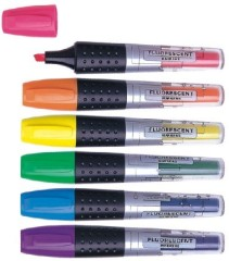 Non-toxic highlighter pens