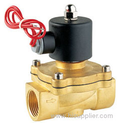 solenoid valve and angle valve