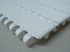 Structure top with 3 mm cones Plastic conveyor chain